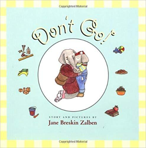 books that help with preschool dropoff