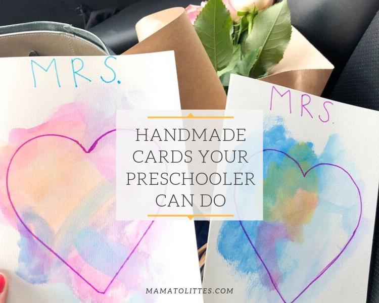 Handmade Card Ideas for Teachers