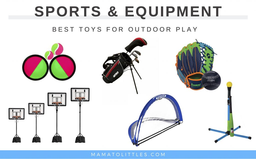 best outdoor sports toys and equipment for kids